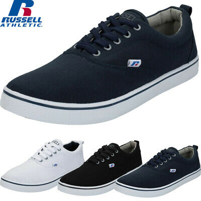Mens New Lace Up Canvas Trainers Plimsoll Shoes Flat Casual Sneakers Pumps Sizes