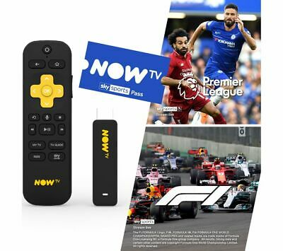 NOW TV Smart Stick with 3 Month Sports Pass - Currys
