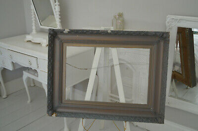 Picture Painting Frame Antique Carved Wooden Wood  VERY OLD LARGE