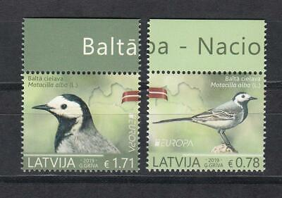 CEPT Latvia Lettland   2019 MNH **  Bird  Set