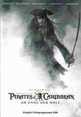 Johnny Depp + Orlando Bloom _PIRATES OF THE CARIBBEAN 3_20seitig.Filmprogramm
