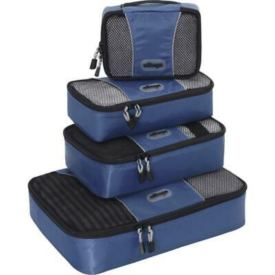 eBags Packing Cubes - 4pc Small/Med Set (Black), Black
