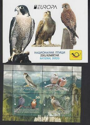 CEPT Macedonia Mazedonien   2019 MNH ** Bird  Booklet