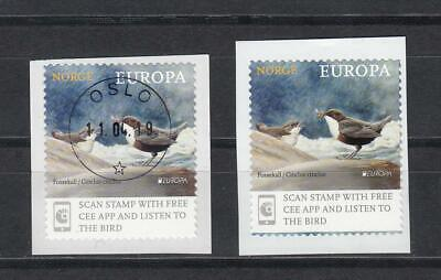 CEPT Norway Norge Norwegen   2019 MNH ** Bird  From Coil and Booklet