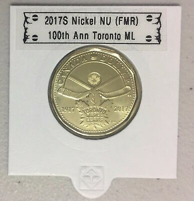 CANADA 2017 New Loonie 100th Anniversary Toronto Maple Leafs (BU From roll)