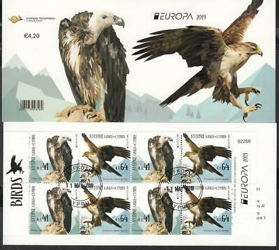 CEPT Zypern Cyprus    2019 Used o  Bird  Booklet