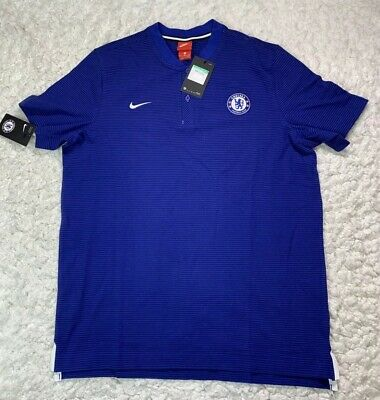 82cf80607c4 Nike Chelsea FC Modern Authentic Grand Slam Men's Polo 905474-417 Size XL