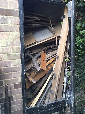 Miscellaneous Wood Buyer Collects From Storage Shed.