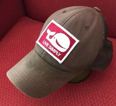 6139bc30de5ff Rare! Patagonia Patch Live Simply Whale Trucker Mesh SnapBack Trucker Hat   Read