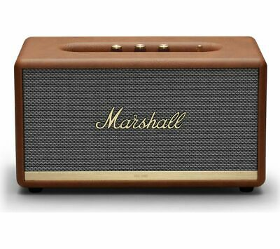 MARSHALL Stanmore II Bluetooth Speaker - Brown - Currys