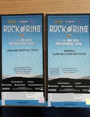rock am ring ticket 2019 die Ärzte Tool