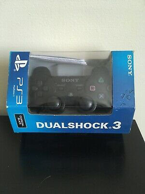 Ps3 controller official Sony DualShock 3 Gamepad Boxed. Free Fast P&P