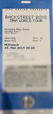 backstreet boys ticket berlin