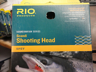 Rio Steelhead Scandi Shooting Head Fly Line 450 Grain 32ft GREAT NEW