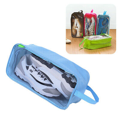Portable Travel Shoes Bag Shoes Organizer with Zipper Closure for Camping Travel