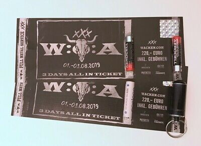 Eine (1!) Wacken Open Air 2019 - Festival Ticket - 3 Days All In - SOLD OUT -