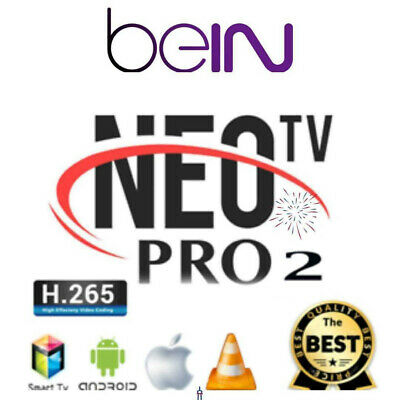 Neo pro 2 12mois-abonnement-7000-chaine-m3u-full-hd-mag,vlc-mag-android-box