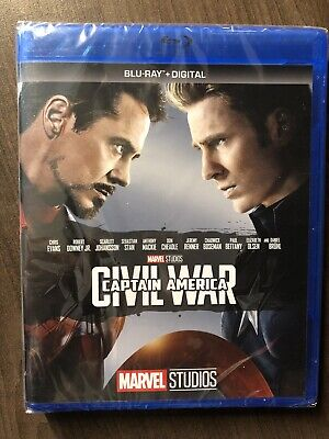 Captain America Civil War Bluray Canada Bilingual NO DC LOOK