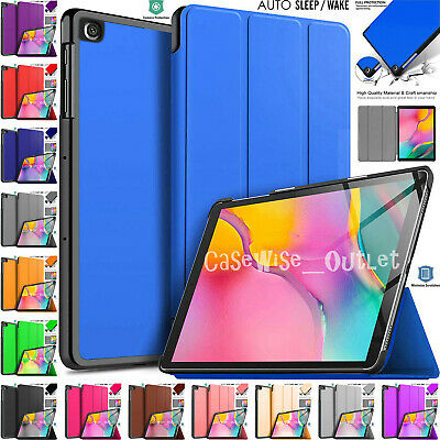 """Leather Magnetic Smart Case Cover For Samsung Galaxy Tab A 10.1"""" SM-T510 SM-T515"""