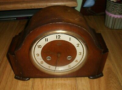 Vintage Mantel Clock Smiths Enfield Made In Great Britain