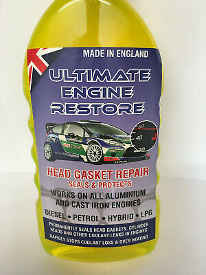 Ultimate Engine Restore Head Gasket Sealer Seals And Protects