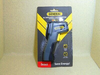 General Tool 8:1 Infrared Thermometer IRT205