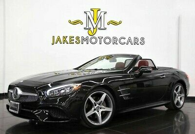 2017 Mercedes-Benz SL-Class SL550 Convertible ($117,325 MSRP) 2017 MERCEDES SL550~ $117,325 MSRP~ OBSIDIAN BLACK ON BENGAL RED~ ONLY 12K MILES