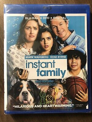 Instant Family Blu-Ray & DVD Canada Bilingual NO DC LOOK