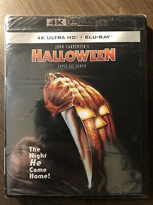 Halloween 40th Anniversary Edition 4K Ultra HD & Blu-Ray SEALED Canada
