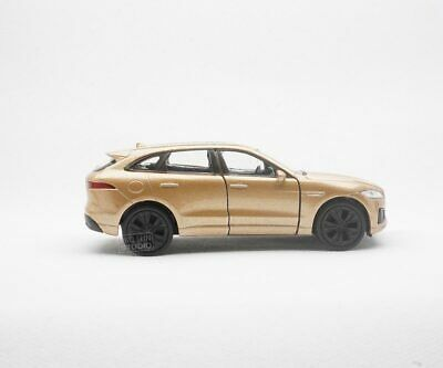 NEW 1/34 JAGUAR  F-Pace Luxury SUV 2016 gold  METAL ALLOY DIECAST CAR COLLECTION