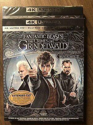 Fantastic Beasts 2 the Crimes Of Grindelwald 4K Ultra HD & Blu-Ray NO DC LOOK