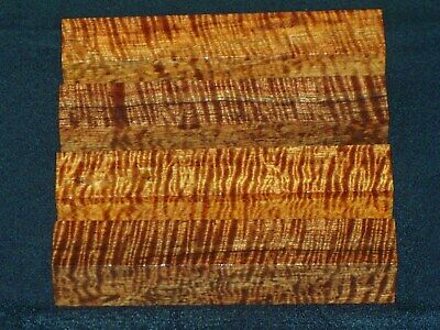 Aaaaa Jumbo Curly Hawaiian Koa Pen Blanks #0011