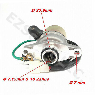 Oem Starter Engine Motor 139Qmb Gy6 Chinese Scooter Atv 4T Taotao Tng Ssr Wolf