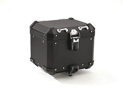 NEW BMW R1250 / 1200 GSA / F850 GSA Aluminium Top Case Luggage - Black