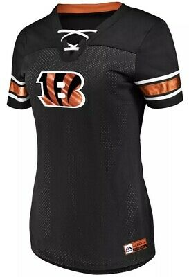 2fab141c NFL CINCINNATI BENGALS Majestic Women's Tested Tank Top - Heather ...