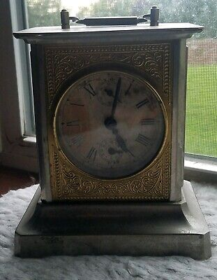 Carriage Antique Clock Made in Germany with Chime Estate Find