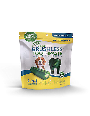 Brushless Toothpaste Natural Dental Chews Dogs Pet Supplies Soft Center Cinnamon