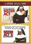 Sister Act & Sister Act 2 (DVD) Whoopi Goldberg, Maggie Smith