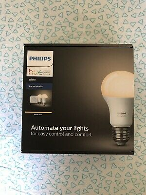 Philips Hue Starter Kit A60 Smart Lighting Warm White