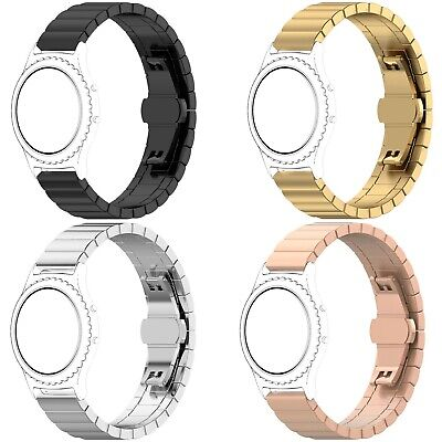 For Samsung Galaxy Watch 42mm 46mm Active Stainless Steel Band Wrist Strap