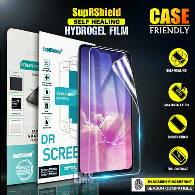 SupRShield Hydrogel Full Coverage Screen Protector For Galaxy S10 S10 Plus S10E