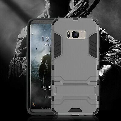 [Tough] Galaxy S8 S9 Plus Slim Fit Case Hybrid Hard PC / Soft TPU For SAMSUNG