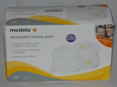Medela Disposable Nursing Pads Double Adhesive 120 Pack