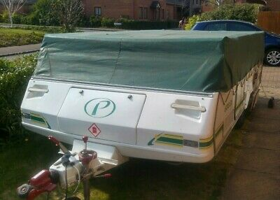 2003 Pennine Pathfinder with awnings and motor mover