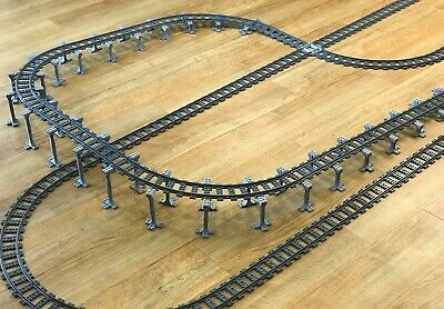 Lego City compatible train set supports, 60197, 60198, 10254, 60238, Track