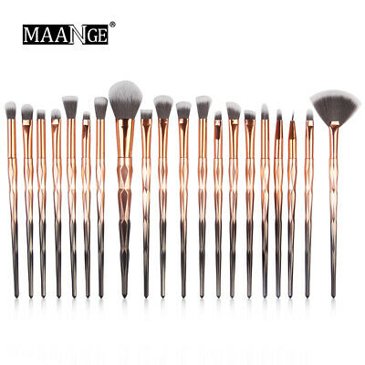 15/20pcs Makeup Brushes Set Eyeshadow Contour Beauty Make Up Cosmetic Tool Kit