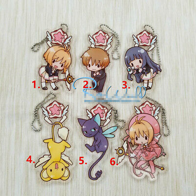 T1322 Anime Attack on Titans acrylic Keychain Key Ring Rare Straps Cosplay