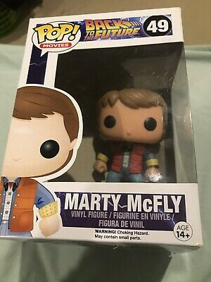 POP Movies Back to the Future Marty McFly Vinyl #49 Figure Collector