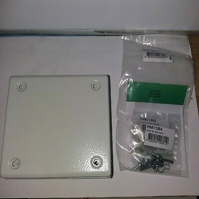 Schneider Electric NSYSBM15158 Metal Industrial Flat Box 150x150x80mm