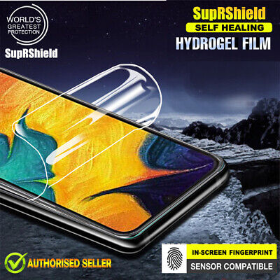 SupRShield Samsung Galaxy A20 A30 A50 A70 Hydrogel Full Cover Screen Protector